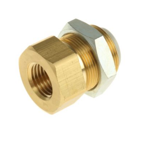 KQ2E10-02A  Соединение для панельного монтажа