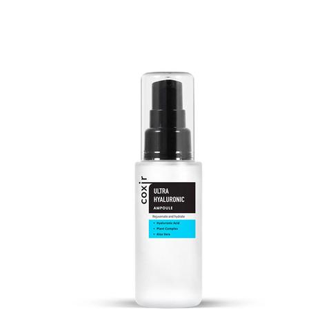 Coxir Сыворотка для лица с гиалуроновой кислотой Ultra Hyaluronic Ampoule, 50 мл
