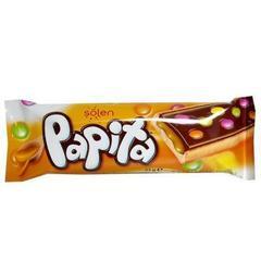 Печенье Papita caramel с карамелью и драже-конфетами 33 гр
