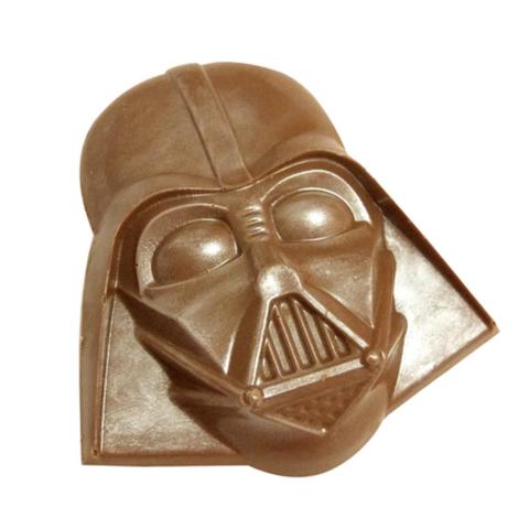 Пластиковая форма для шоколада дет. Мультяшный герой ТЕМНЫЙ ЛОРД 95х90мм