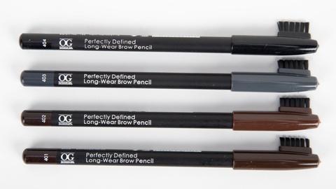 OG-ML2116 Карандаш для бровей с щеточкой №404 чёрный,Long-Wear Brow Pencil