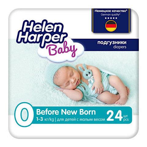 Helen Harper. Детские подгузники для недоношенных Before Newborn 1-3 кг 24 шт.