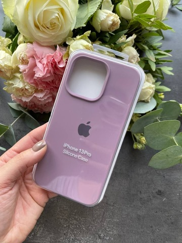 Чехол iPhone 13 Pro Silicone Case Full /blueberry/