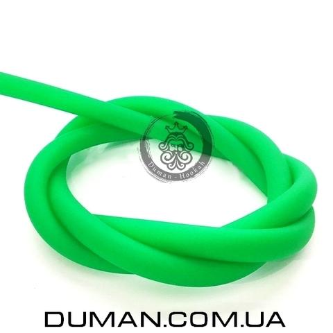 Cиликоновый шланг Soft Touch (Софт Тач) зеленый для кальяна