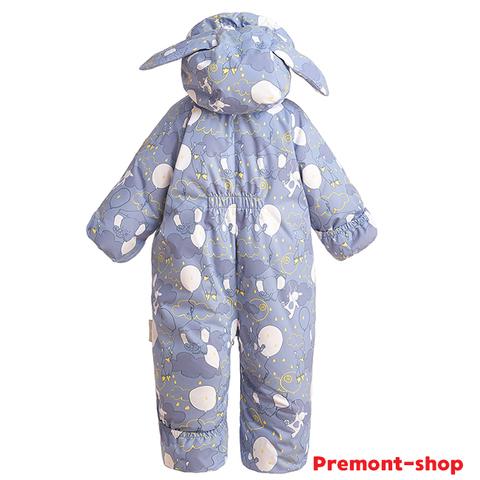 Зимний комбинезон-трансформер Premont для девочек Зимний сон WP93064 GREY