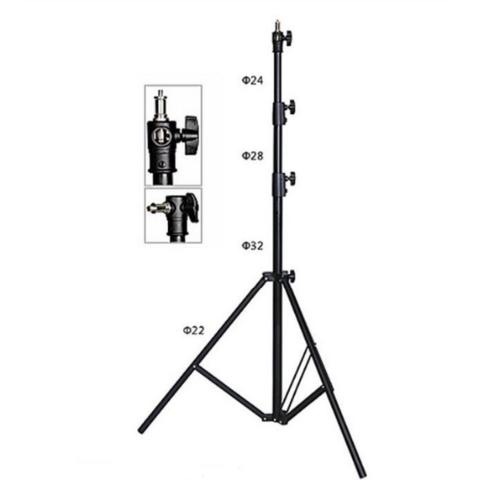 Стойка 2,7 м для фотосвета с амортизатором NiceFoto LS-270AT