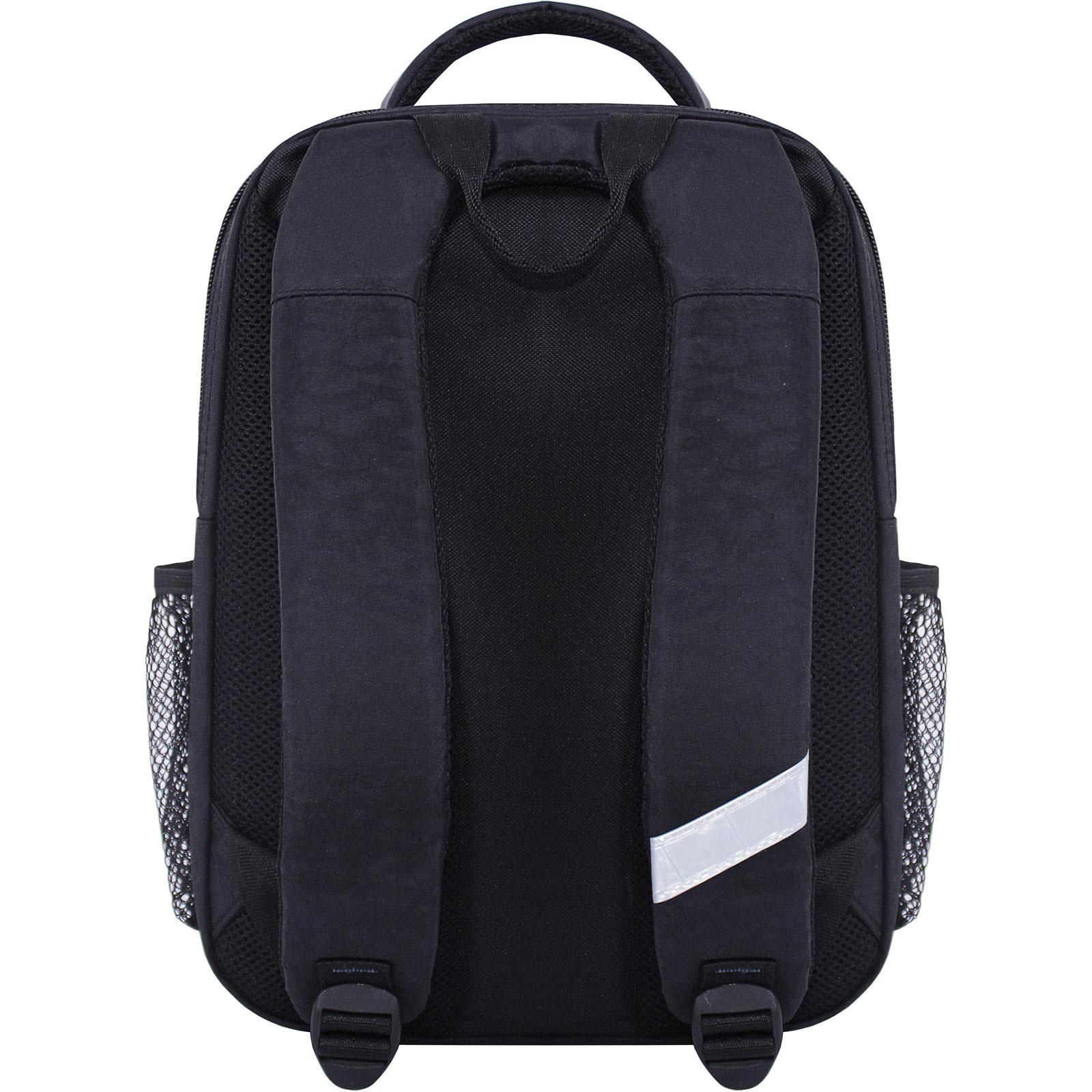Рюкзак школьный Bagland Школьник 8 л. черный 500 (0012870) фото 3