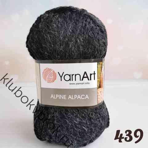 YARNART ALPINE ALPACA 439, Черный