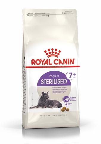 Royal Canin Sterilised 7+ сухой корм для стерилизованных кошек старше 7 лет 400 г