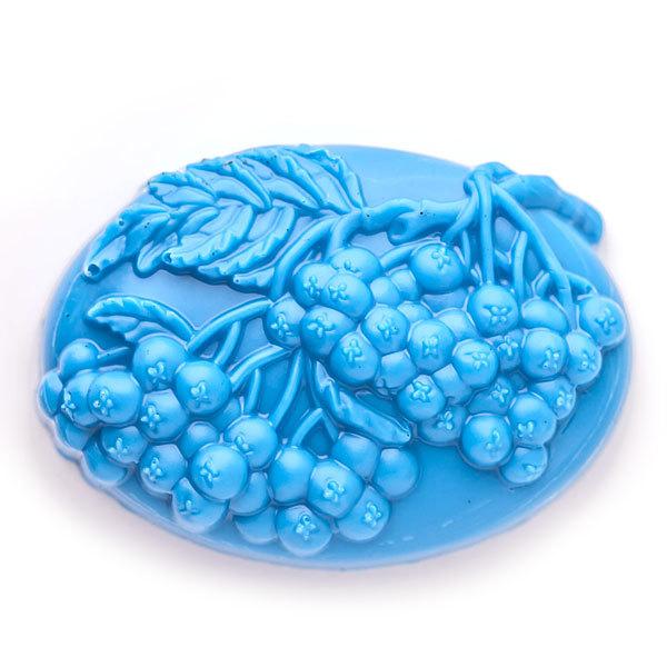 Пластиковая форма для мыла Гроздья рябины
