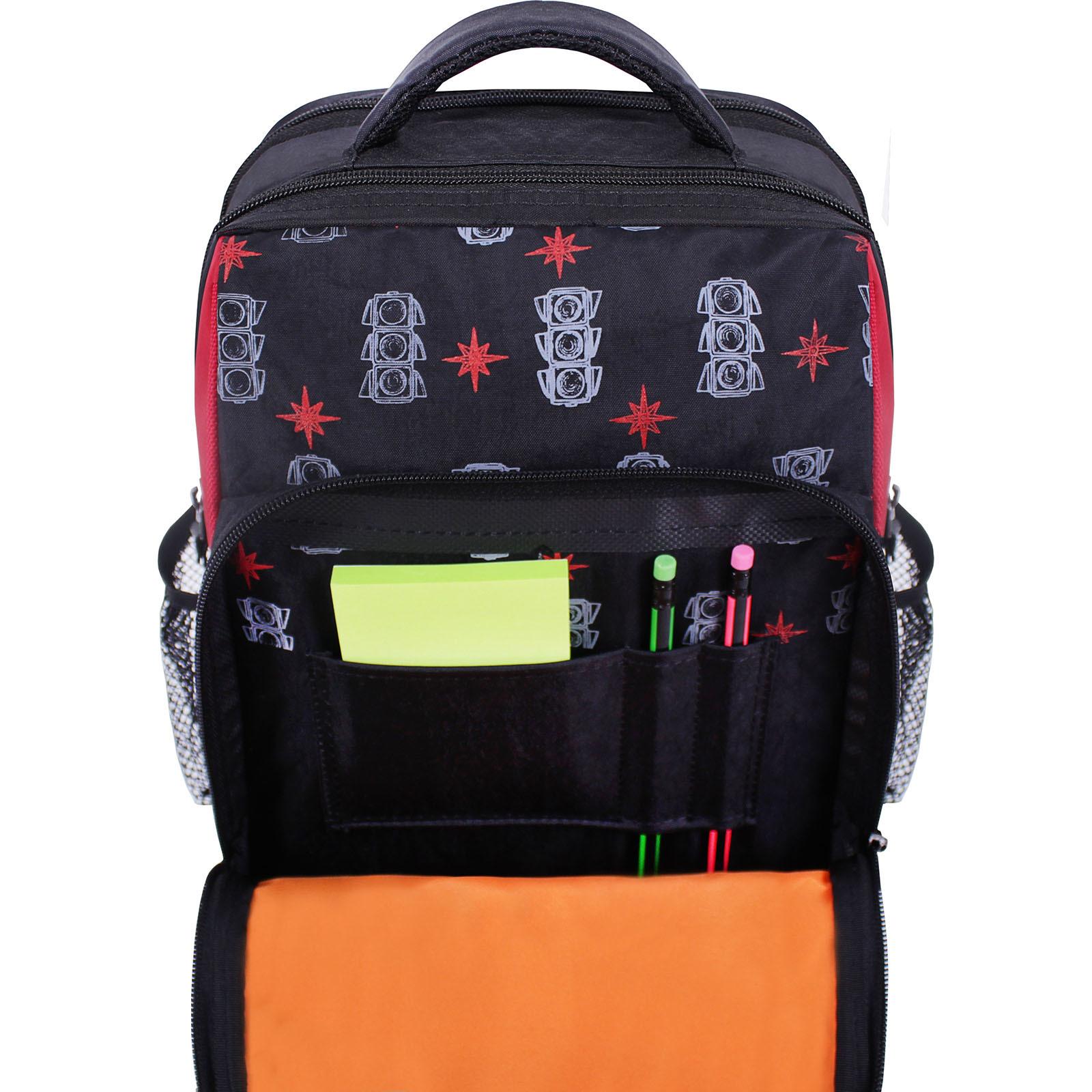 Рюкзак школьный Bagland Школьник 8 л. черный 500 (0012870) фото 4