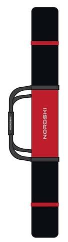 Чехол для беговых лыж Nordski 210 см 3 пары Black/Red