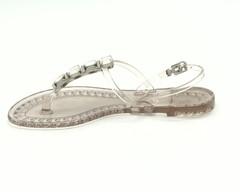 Прозрачные силиконовые сандалии