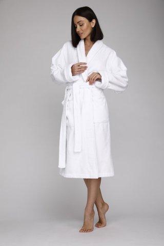 Махровый женский халат  Snow White 703