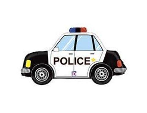 Фольгированный шар Машина полицейская