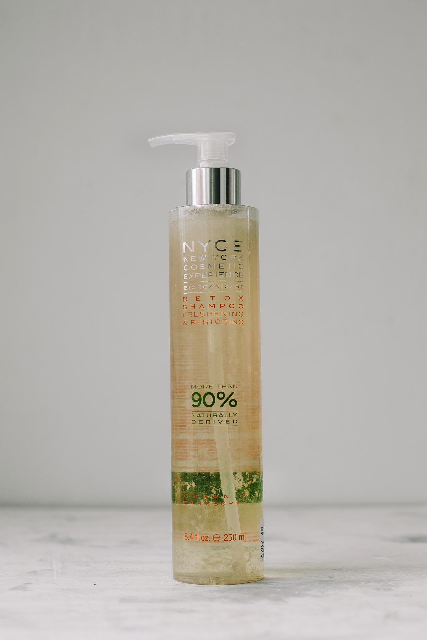 Шампунь очищающий NYCE Biorganic Detox Shampoo 250 мл