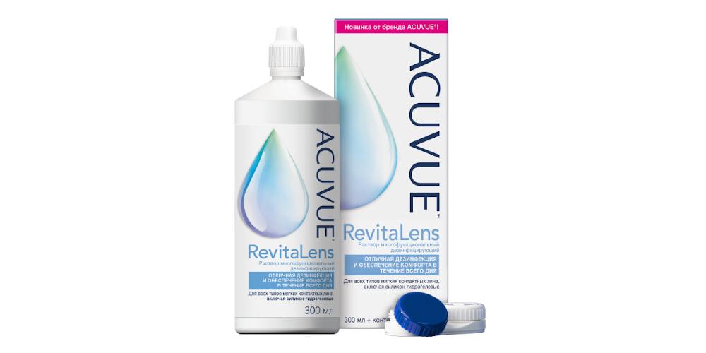 Acuvue RevitaLens (+контейнер)
