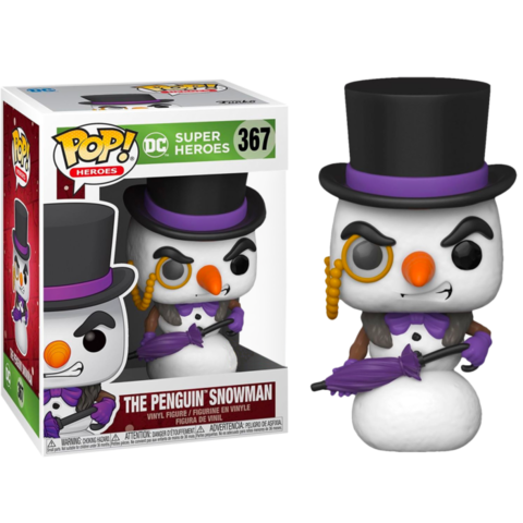 Фигурка Funko Pop! Heroes: The Penguin Snowman (Excl. to Hot Topic)