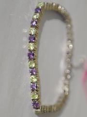 Лента  (серебряный браслет)