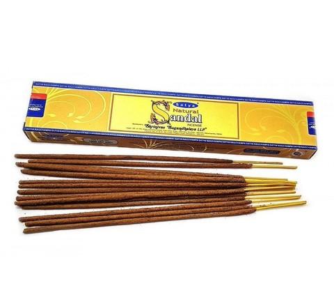 Индийские палочки Satya Natural Sandal