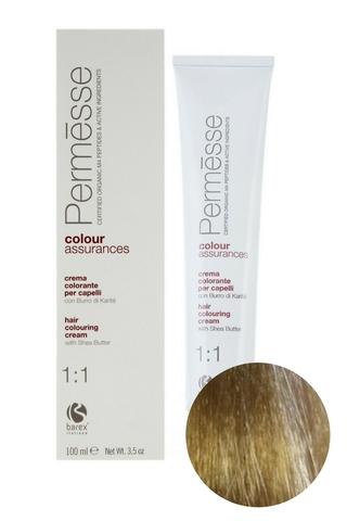 Крем-краска для волос 9.003 Суперсветлый блондин теплый Permesse, Barex