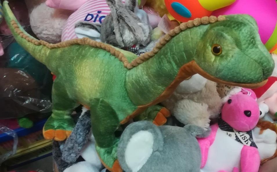 Зелёный динозавр 40 СМ