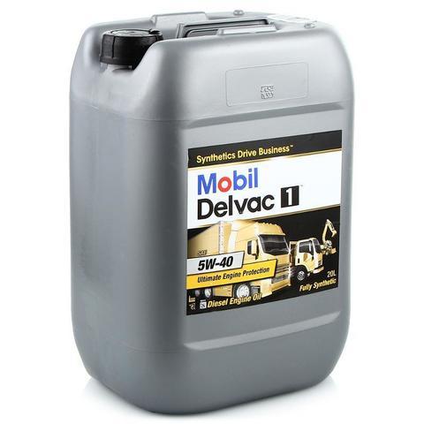 Масло  моторное синтетическое (20л) / MOBIL DELVAC 1 5W-40, 20L АРТ: 152709