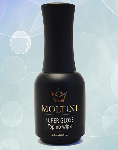 Moltini Super Gloss Top, 20 ml Топ-супер глянец без липкого слоя
