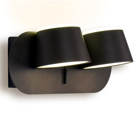 Настенный светодиодный светильник Ambrella FW172/2 CF/S кофе/песок LED 4200K 20W