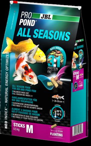 Корм для прудовой рыбы JBL Pond Sticks 4in1 5,8кг