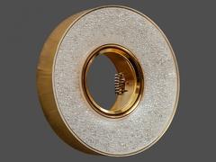 Встраиваемый Светильник 8121-9W-GO+Диодная подсветка Золото