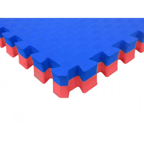 Мягкий пол Татами 40 мм ЭКО 1788/661 красно-синий