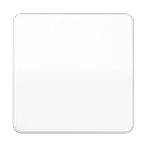 Выключатель одноклавишный. 10 A / 250 B ~. Цвет Блестящий белый. JUNG CD. 501U+CD590BFWW
