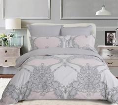 Сатиновое постельное бельё  1,5 спальное Сайлид  В-191