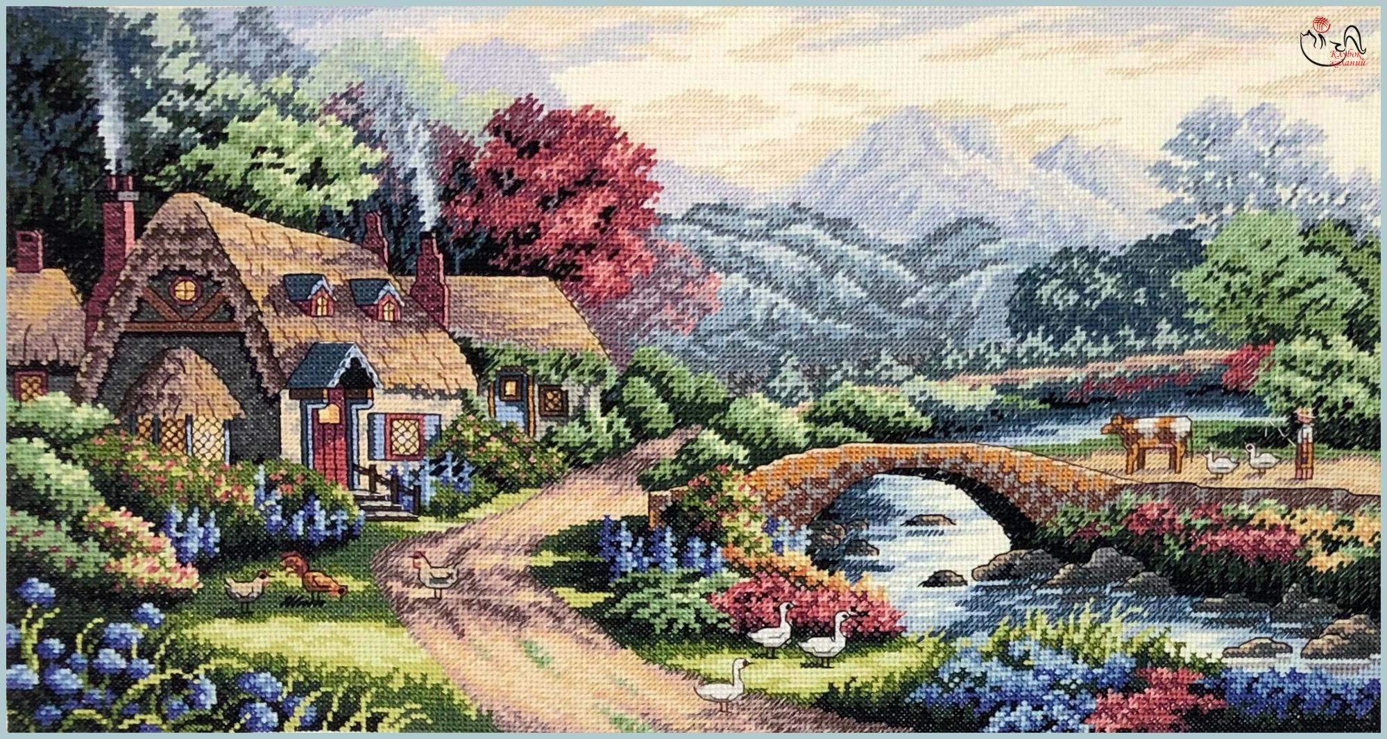 Набор для вышивания Английский коттедж. Арт. 3075