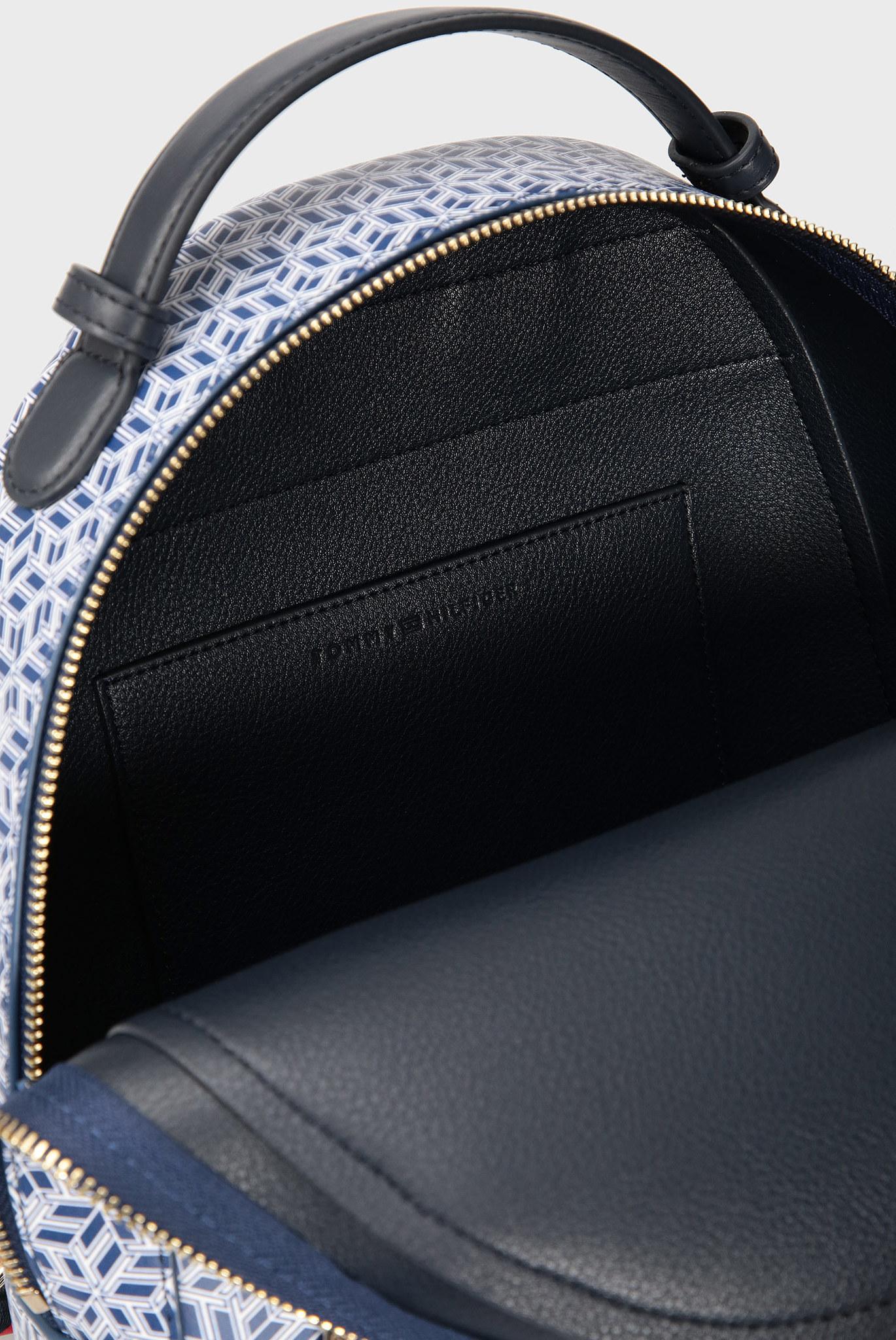 Женский синий рюкзак с принтом ICONIC Tommy Hilfiger