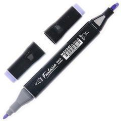 Mazari Fantasia набор маркеров для скетчинга 12 шт двусторонние спиртовые пуля/долото 3.0-6.2 мм (основные + флуоресцентные)