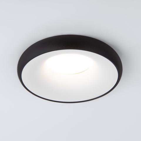 Встраиваемый точечный светильник 118 MR16 белый/черный
