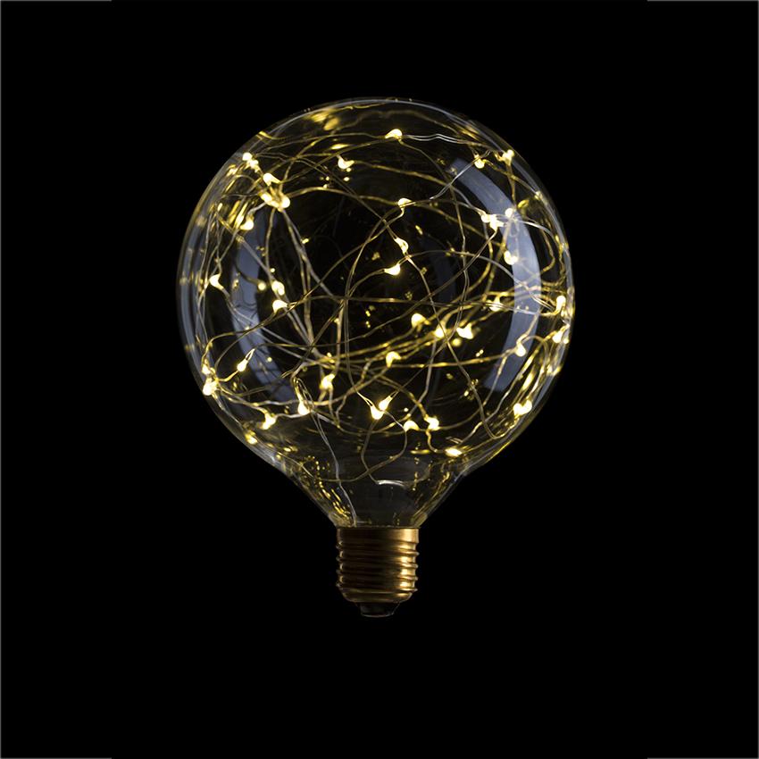 Лампа Эдисона Sunlumen G125 Starry - вид 1
