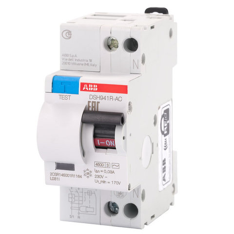 Авт.диф.тока DSH941R C40 30мA тип АС