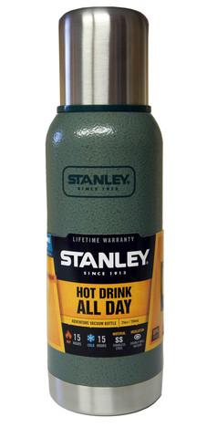 Картинка термос Stanley Adventure 0,75L Зеленый - 1