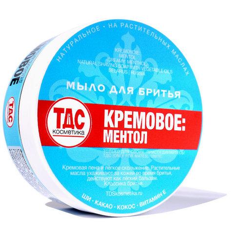Мыло для бритья ТДС Ментол 85гр