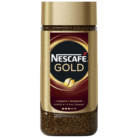 Кофе Nescafe Gold c/б 190г