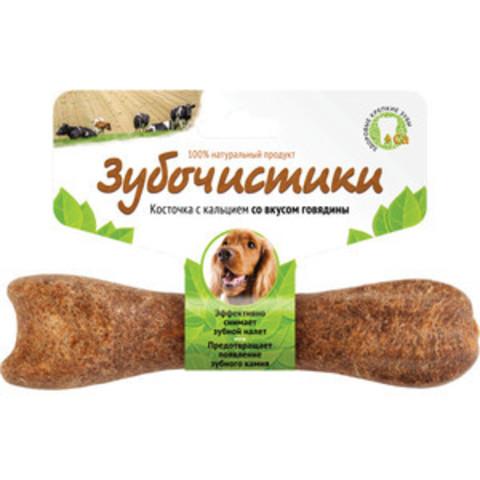 Деревенские лакомства Зубочистки авокадо для собак средних пород со вкусом говядины 95г