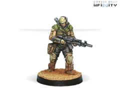 Husam (вооружен Rifle + Light Shotgun)