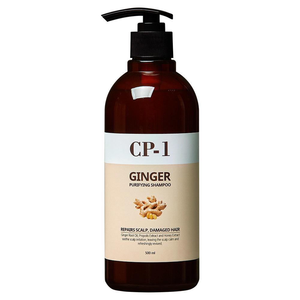 Шампунь для волос Шампунь для волос ИМБИРНЫЙ ESTHETIC HOUSE CP-1 GINGER PURIFYING SHAMPOO 500 мл _MG_81852.jpg