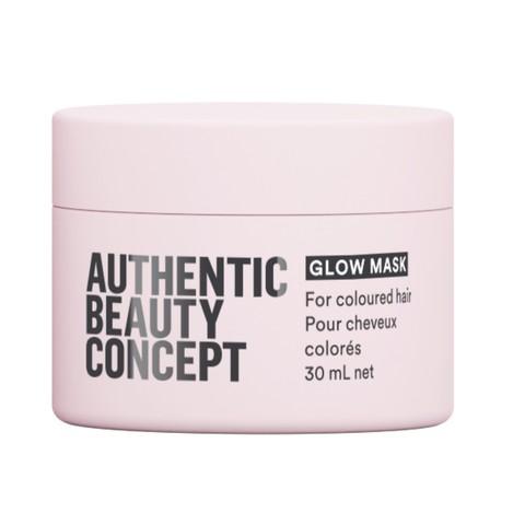 AUTHENTIC BEAUTY CONCEPT Маска для блеска натуральных и окрашенных волос Glow (travel)