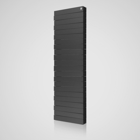 Радиатор биметаллический Royal Thermo PianoForte Tower Noir Sable (черный)  - 18 секций