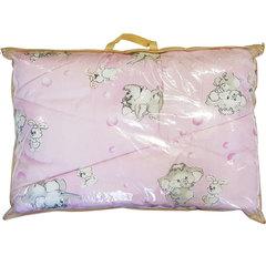 Папитто. Одеяло детское стеганое полушерстяное, 110х140 см  розовый вид 9