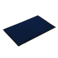 Коврик влаговпитывающий, ребристый, синий, 40*60 см